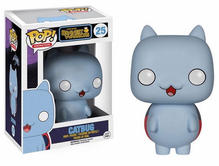 Funko Pop Vinyl Cartoon Hangover Bravest Warriors Catbug Figure