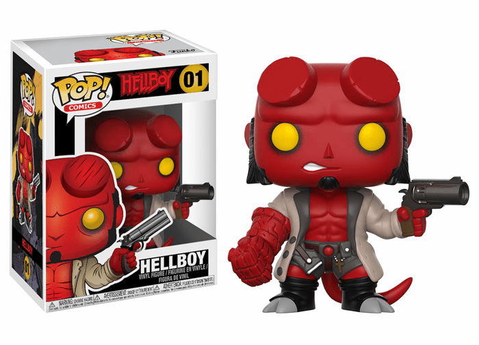 Funko Pop Vinyl Comics 01 Hellboy Figure