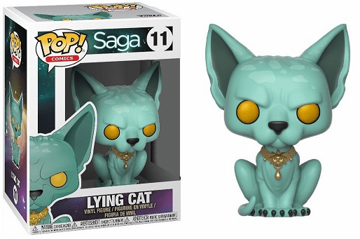 Funko Pop Vinyl Comics 11 Saga Lying Cat Figure