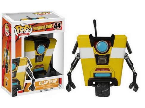 Funko Pop Vinyl Games Borderlands Claptrap Figure