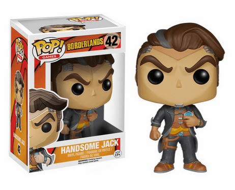 Funko Pop Vinyl Games Borderlands Handsome Jack Figure