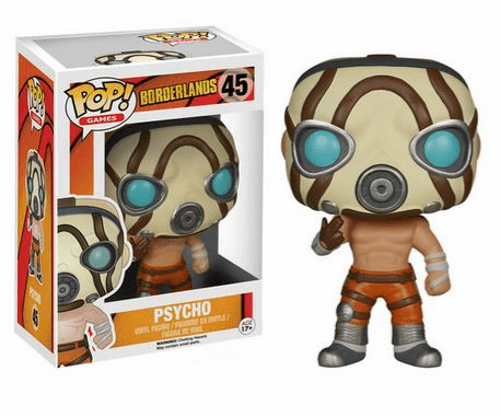 Funko Pop Vinyl Games Borderlands Psycho Figure