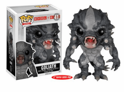 Funko Pop Vinyl Games Evolve Goliath Figure