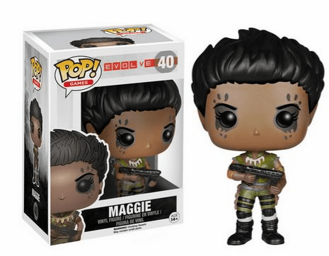 Funko Pop Vinyl Games Evolve Maggie Figure