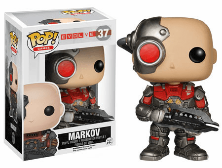 Funko Pop Vinyl Games Evolve Markov Figure