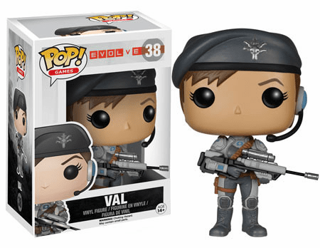 Funko Pop Vinyl Games Evolve Val Figure