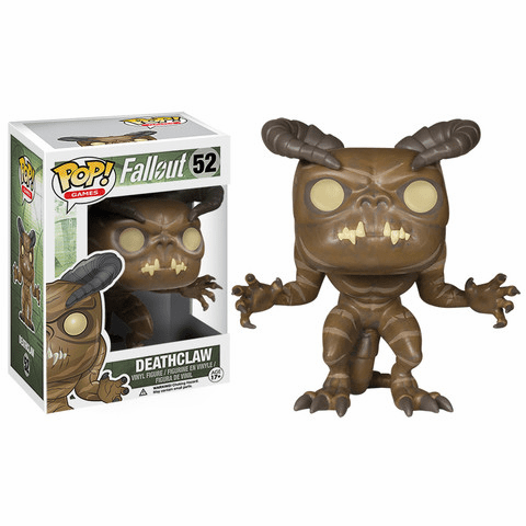Funko Pop Vinyl Games Fallout Deathclaw Figure