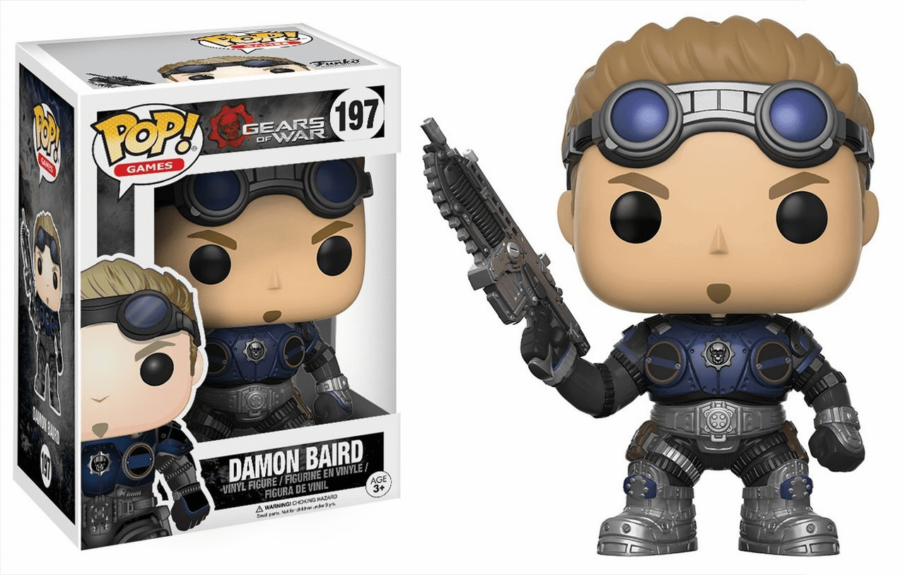 Funko Pop Vinyl Games Gears of War Damon Baird Figure