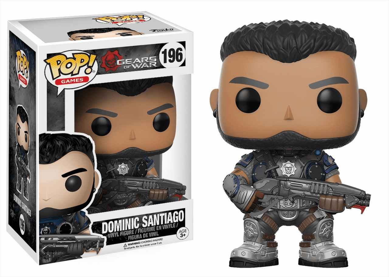 Funko Pop Vinyl Games Gears of War Dominic Santiago Figure