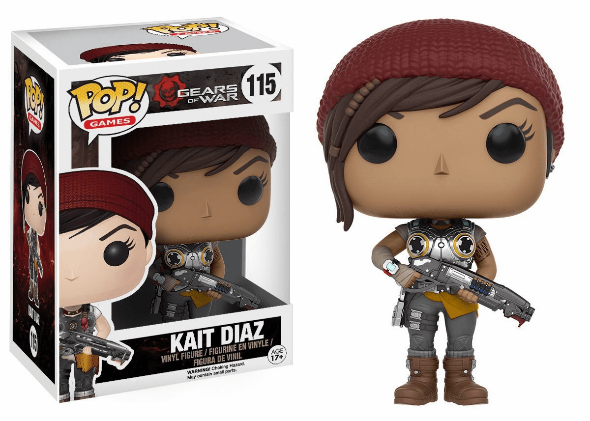 Funko Pop Vinyl Games Gears of War Kait Diaz Figure