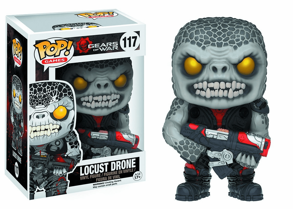 Funko Pop Vinyl Games Gears of War Locust Drone Figure