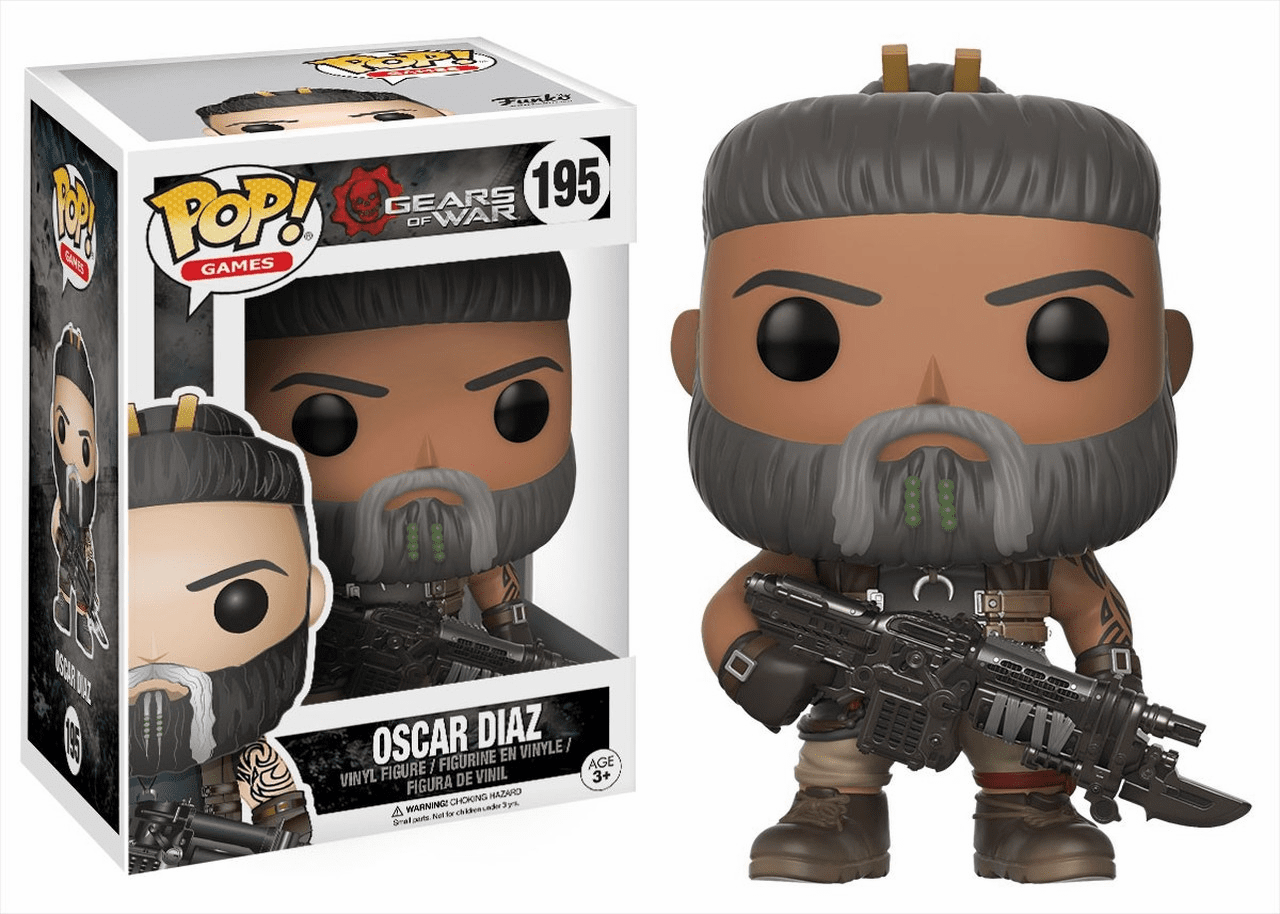 Funko Pop Vinyl Games Gears of War Oscar Diaz Figure