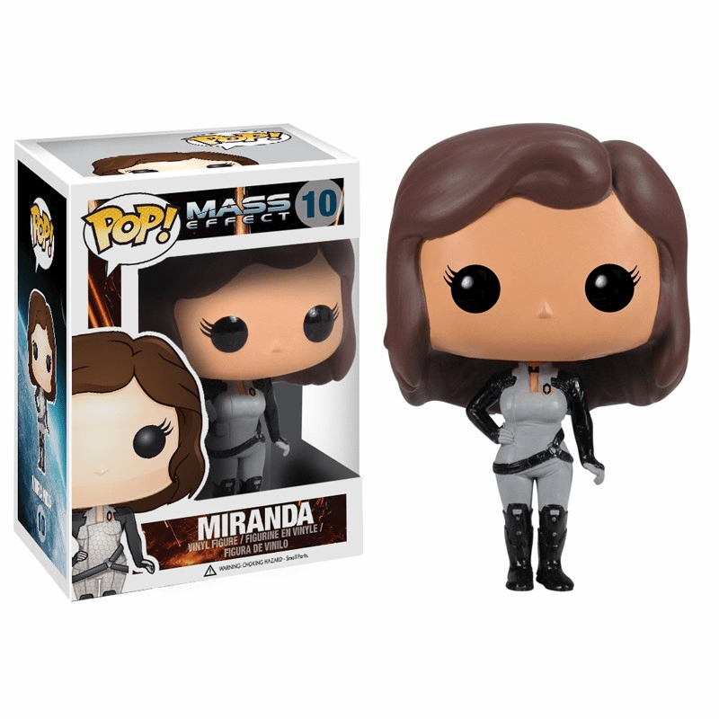 Funko Pop Vinyl Games Mass Effect Miranda Figure