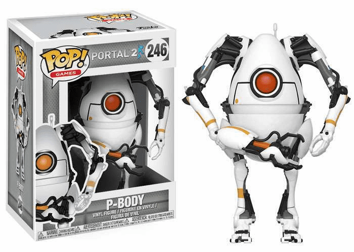 Funko Pop Vinyl Games Portal 2 P-Body Figure