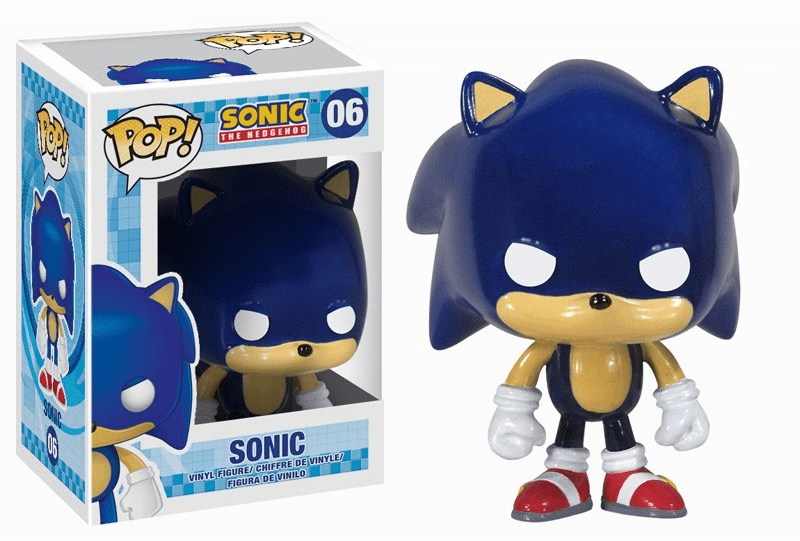 Funko Pop Vinyl Games Sonic the Hedgehog Sonic Figure