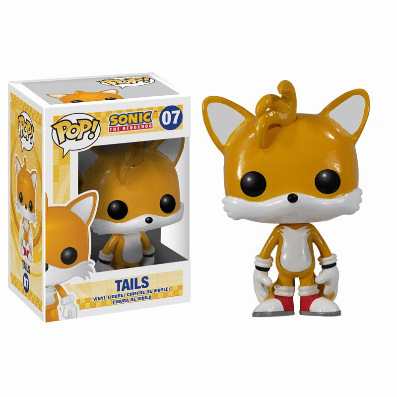 Funko Pop Vinyl Games Sonic the Hedgehog Tails Figure