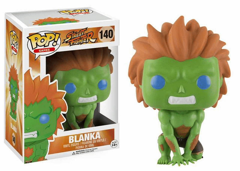 Funko Pop Vinyl Games Street Fighter Blanka Figure