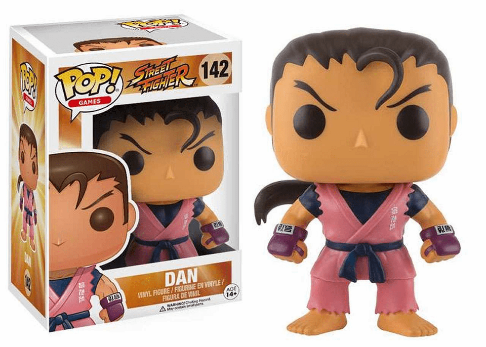 Funko Pop Vinyl Games Street Fighter Dan Figure