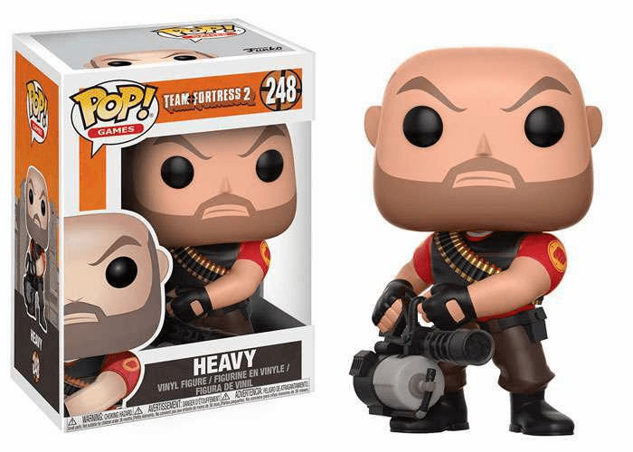 Funko Pop Vinyl Games Team Fortress 2 Heavy Figure