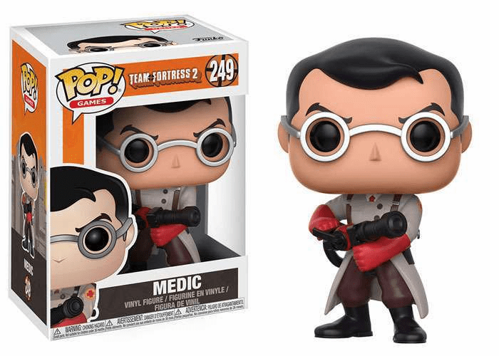 Funko Pop Vinyl Games Team Fortress 2 Medic Figure