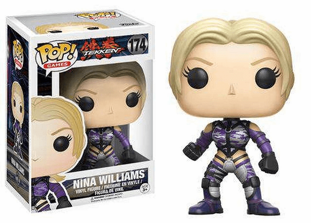 Funko Pop Vinyl Games Tekken Nina Williams Figure