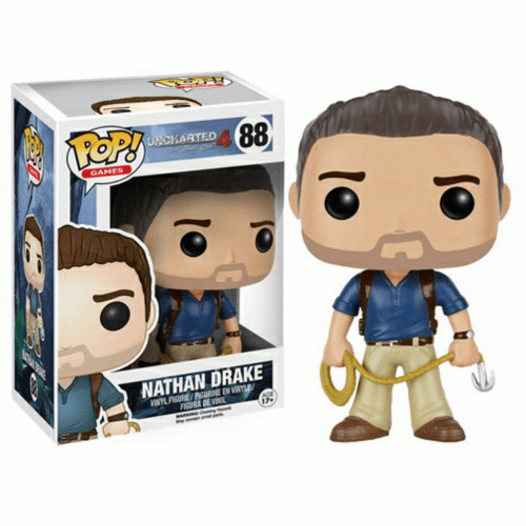 Funko Pop Vinyl Games Uncharted Nathan Drake Figure