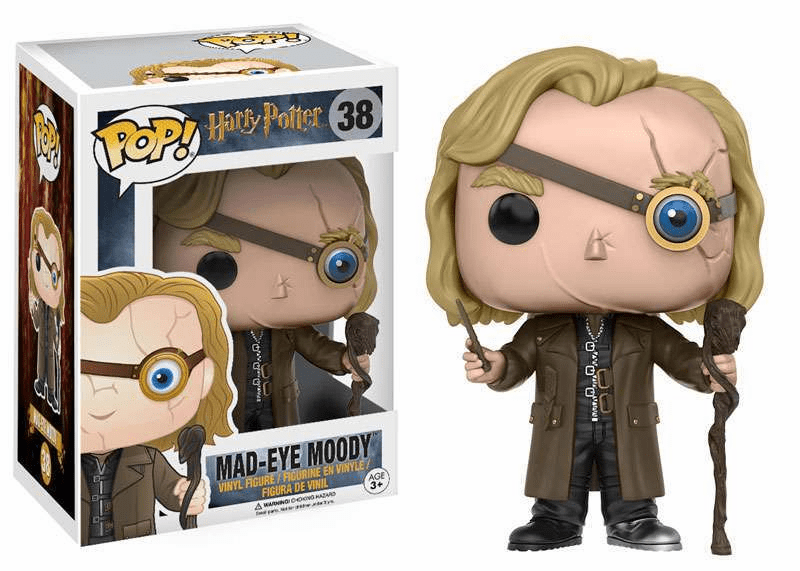Funko Pop Vinyl Harry Potter Mad-Eye Moody Figure