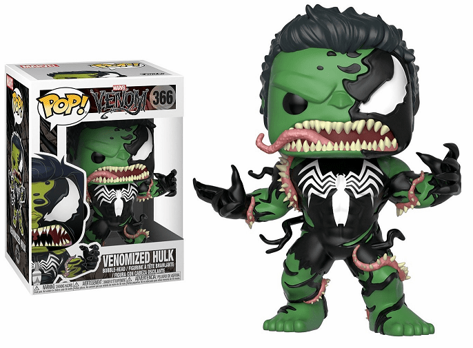 Funko Pop Vinyl Marvel 366 Venomized Hulk Figure