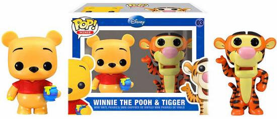 Funko Pop Vinyl Minis 03 Winnie the Pooh and Tigger Figures