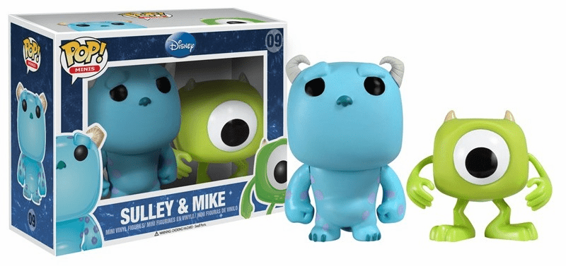 Funko Pop Vinyl Minis 09 Sulley and Mike Figures