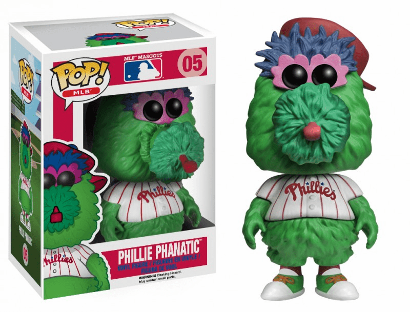 Funko Pop Vinyl MLB 05 Philadelphia Phillies Phillie Phanatic Figure