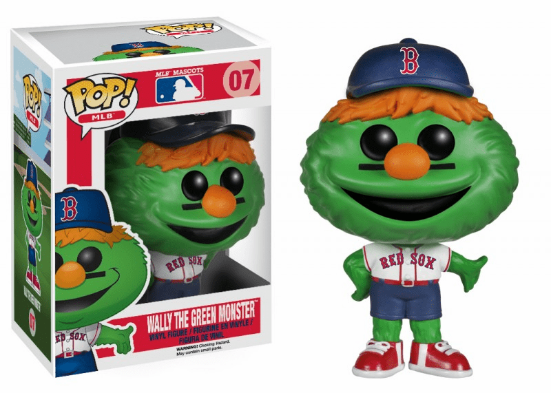 Funko Pop Vinyl MLB 07 Boston Red Sox Wally the Green Monster Figure