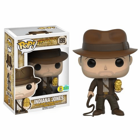 funko pop vinyl movies 199 indiana jones with idol sdcc 2016 figure