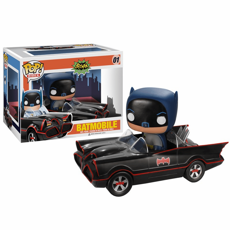Funko Pop Vinyl Rides 1966 Batmobile Figure