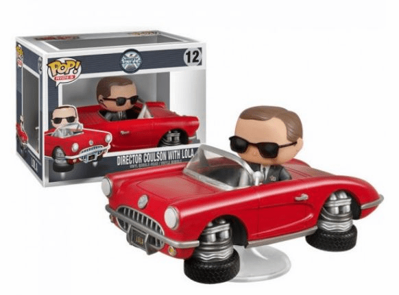 Funko Pop Vinyl Rides Agents of S.H.I.E.L.D. Director Coulson with Lola