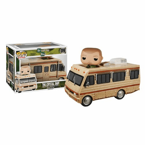 Funko Pop Vinyl Rides Breaking Bad Crystal Ship
