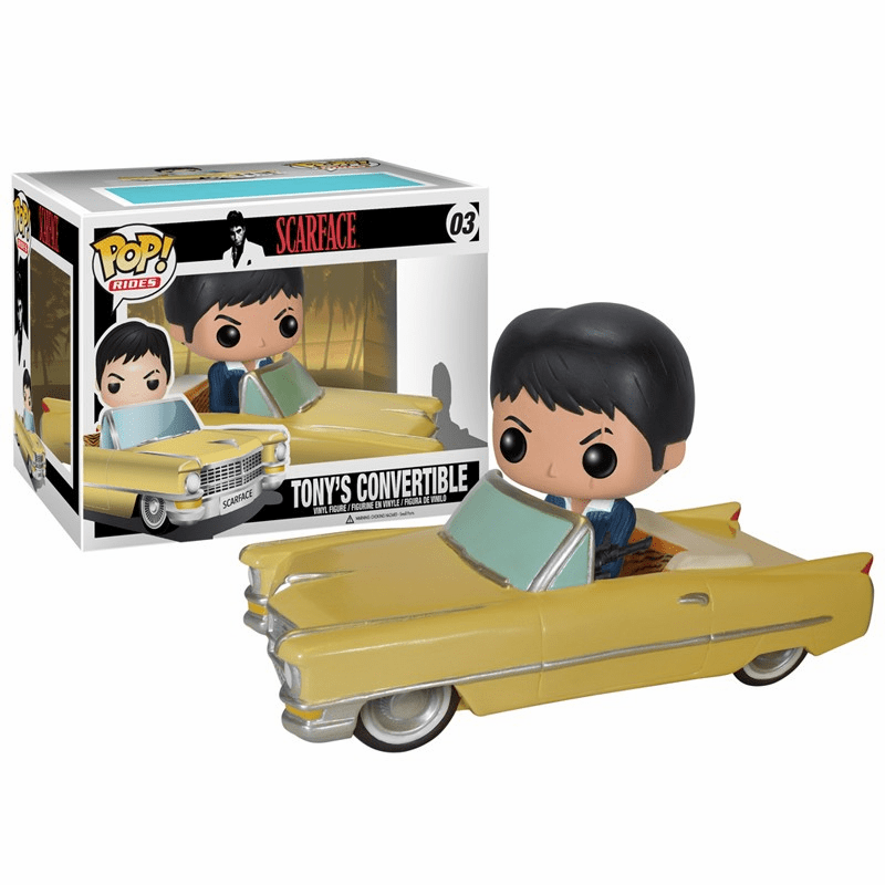 Funko Pop Vinyl Rides Scarface Tony's Convertible