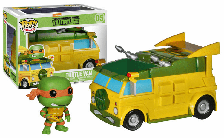 Funko Pop Vinyl Rides Teenage Mutant Ninja Turtle Van