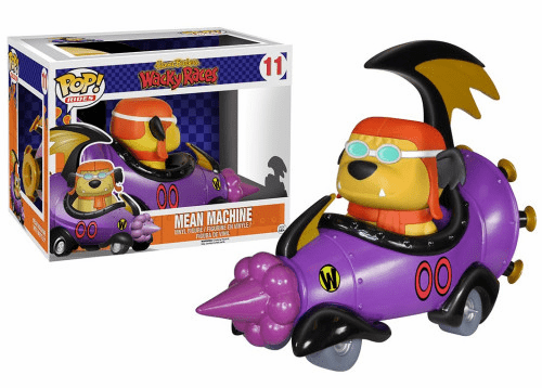 Funko Pop Vinyl Rides Wacky Races Mean Machine