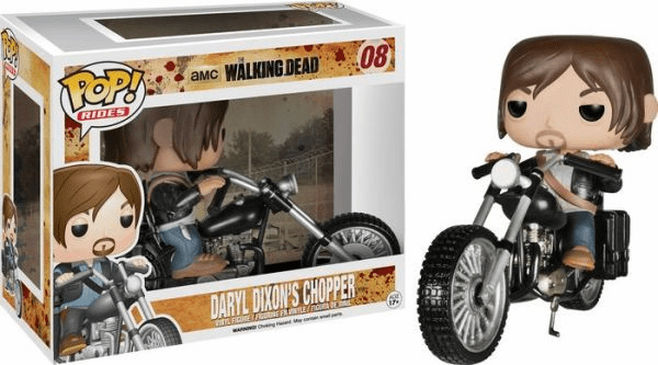 Funko Pop Vinyl Rides Walking Dead Daryl Dixon Chopper