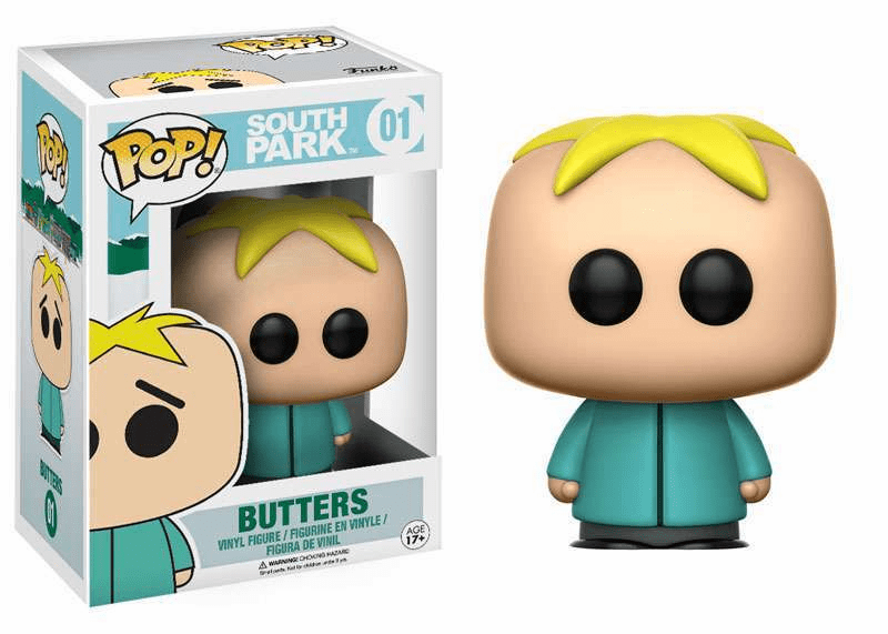 Funko Pop Vinyl South Park 01 Butters Figure