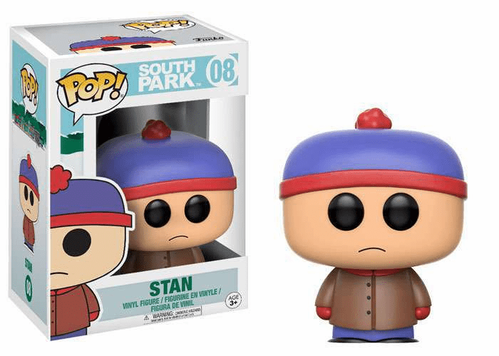Funko Pop Vinyl South Park 08 Stan Figure
