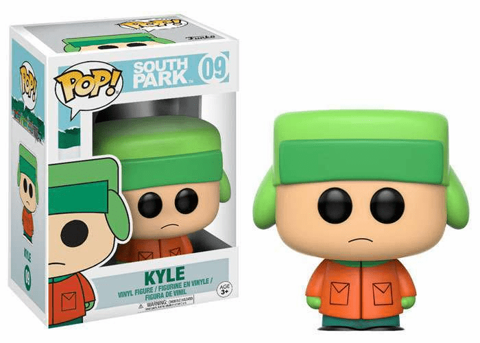 Funko Pop Vinyl South Park 09 Kyle Figure