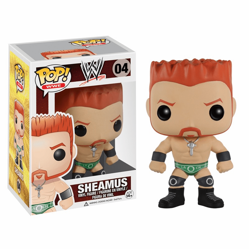 Funko Pop Vinyl WWE Sheamus Figure