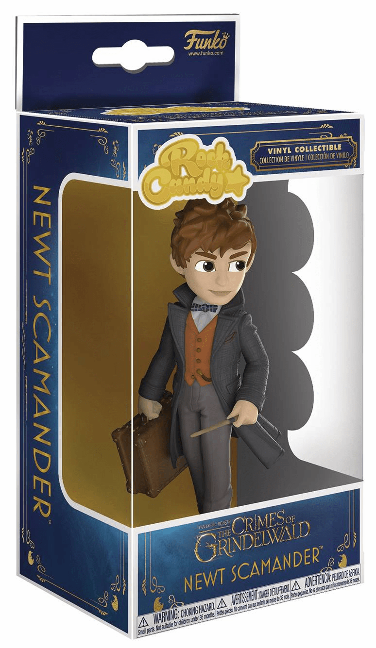 Funko Rock Candy Fantastic Beasts Newt Scamander Figure