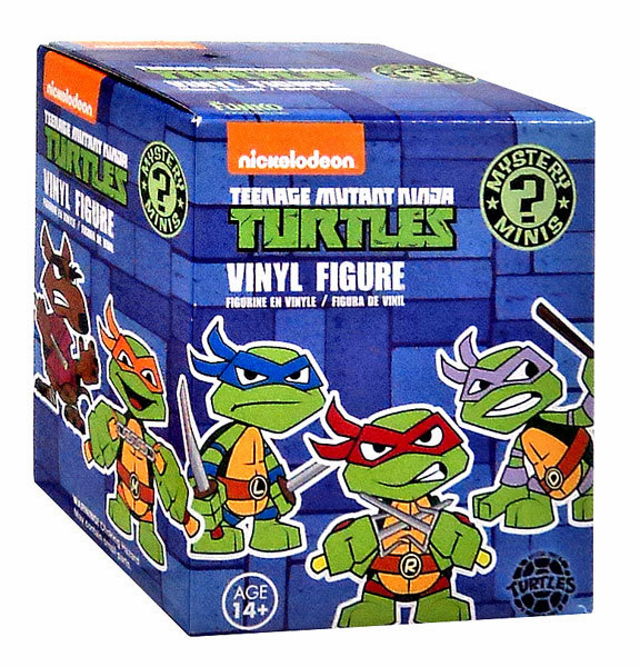 Funko Teenage Mutant Ninja Turtles Mini Figure Mystery Pack