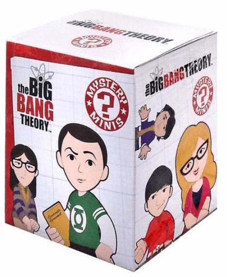 Funko The Big Bang Theory Mini Figure Mystery Pack