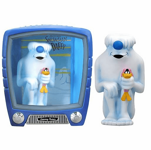 FunkoVision Looney Tunes Abominable Snowman & Daffy Duck Display
