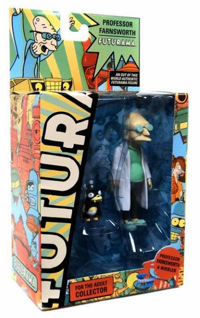Futurama Encore Professor Farnsworth and Nibbler Figure