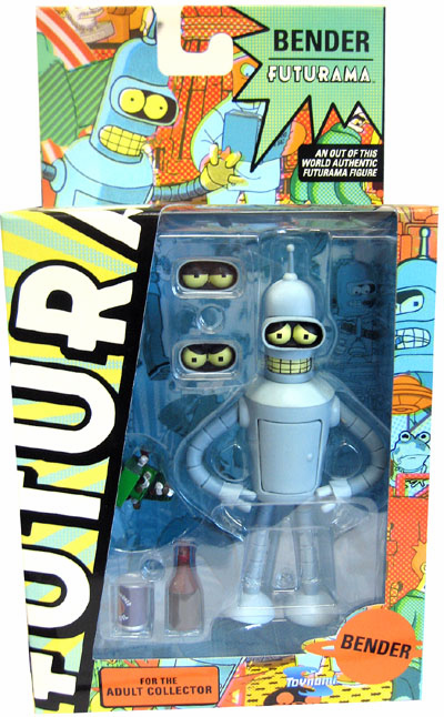 Futurama Reissue Bender Action Figure